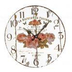 Designové nástěnné zrcadlové hodiny 14879 Lowell 33cm 164940