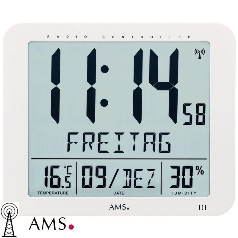 Digitální hodiny AMS 5886 165183 Hodinářství