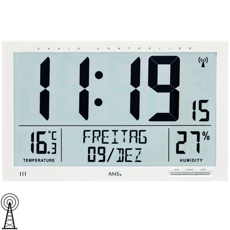 Digitální hodiny AMS 5887 165182 Hodinářství