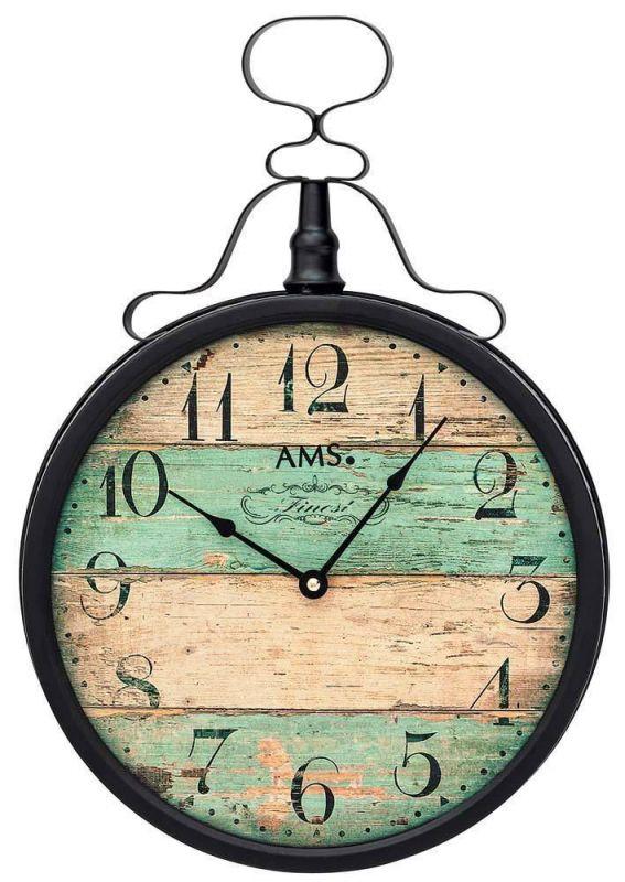 Kovové hodiny AMS 9532 165125
