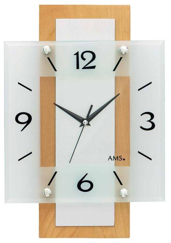 Nástěnné hodiny AMS 5507 165144