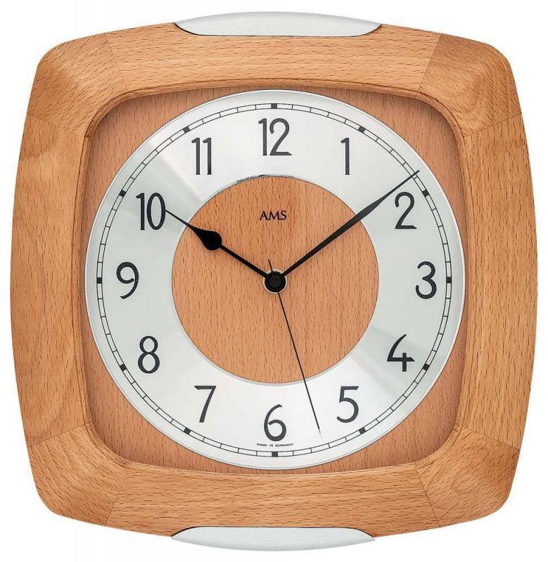 Nástěnné hodiny AMS 5804/18 165152