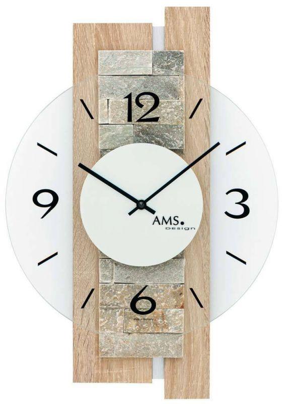 Hodiny na zeď Nástěnné hodiny AMS 9542 165190 Designové hodiny