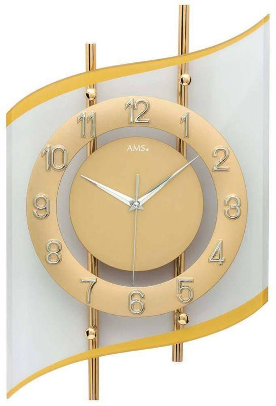 Nástěnné hodiny designové AMS 5505 165132 Hodiny