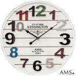 Nástěnné hodiny dřevěné AMS 9538 165129
