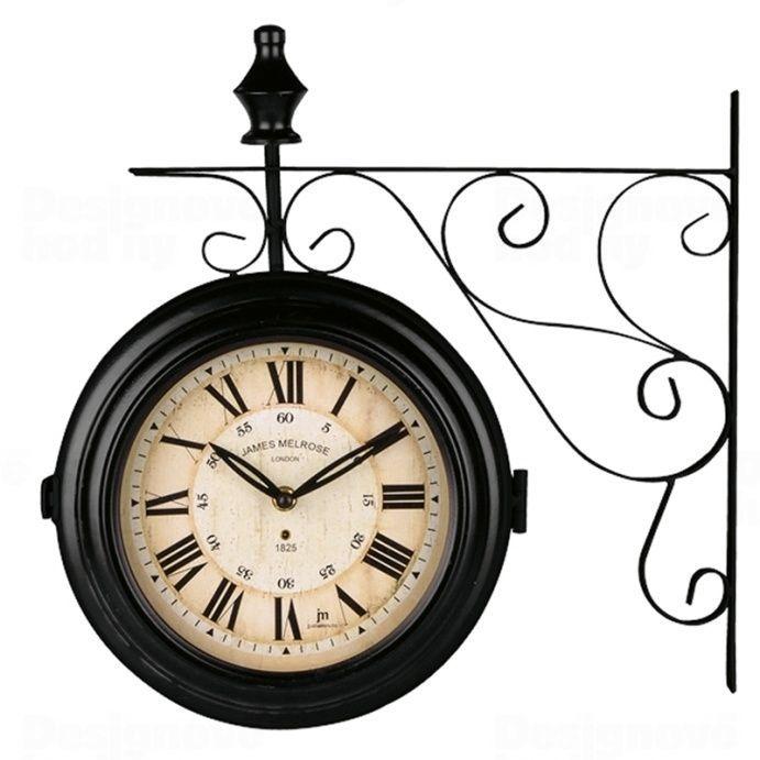 Lowell Italy Oboustranné nástěnné hodiny 14754 Lowell 26cm 165383