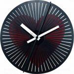 Pohyblivé designové nástěnné hodiny Nextime 3124 Kinegram Heart 30cm 165376