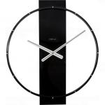 Designové nástěnné hodiny 3195zw Nextime Carl 58cm 165411