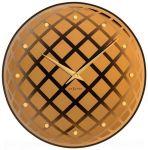 Designové nástěnné hodiny 8185co Nextime Pendula Round 43cm 165417
