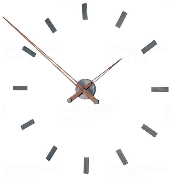 Designové nástěnné hodiny Nomon Tacon Graphite 100cm 165431