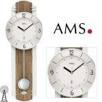 Rádiem řízené kyvadlové hodiny AMS 5292 165504