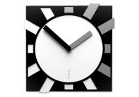 Designové hodiny 10-023 CalleaDesign Jap-O 38cm (více barevných verzí) Barva černá klasik - 5 165852 Hodiny