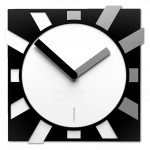 Designové hodiny 10-023 CalleaDesign Jap-O 38cm (více barevných verzí) Barva rubínová tmavě červená - 65 165858
