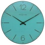 Designové nástěnné hodiny 3159tq Nextime Index Dome 35cm 165917