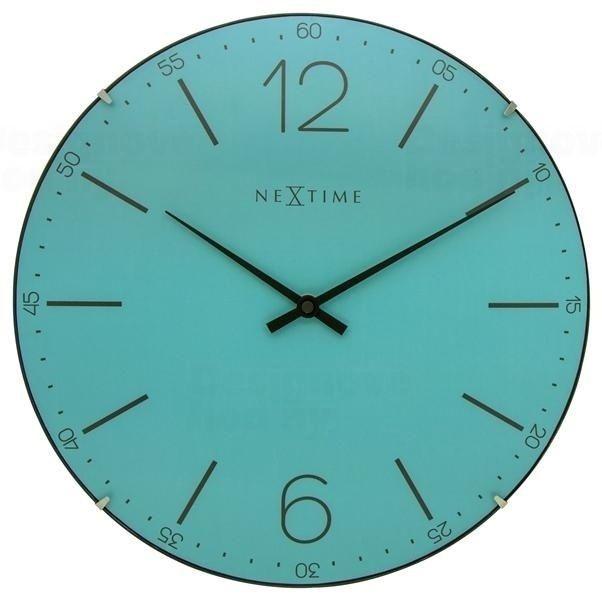 Designové nástěnné hodiny 3159tq Nextime Index Dome 35cm 165917 Hodiny