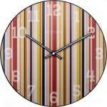 Designové nástěnné hodiny 3168 Nextime Smithy Dome 35cm 165920