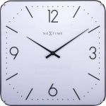 Designové nástěnné hodiny 3174 NextimeSquare Dome 35cm 165918