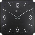 Designové nástěnné hodiny 3175 NextimeSquare Dome 35cm 165919