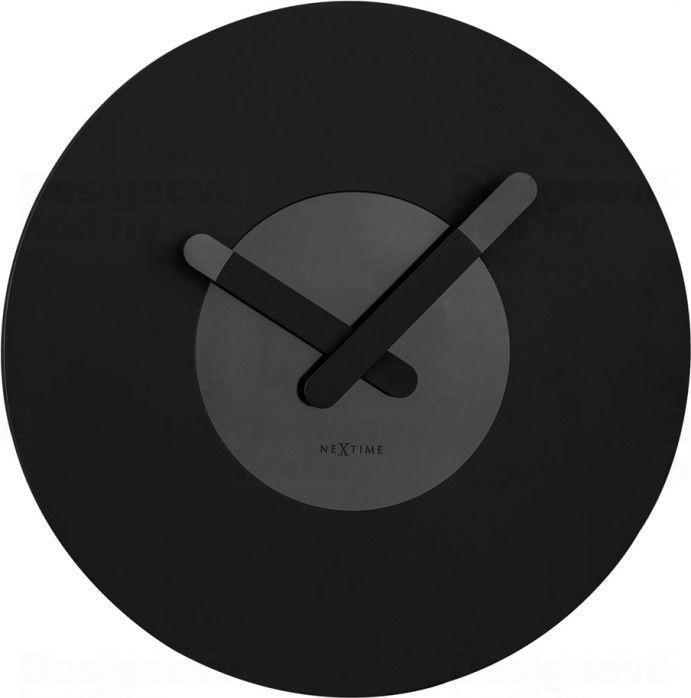 NeXtime Designové nástěnné hodiny 3189zw Nextime In Touch 40cm 165837