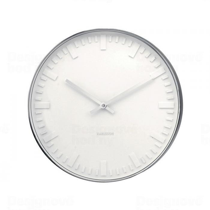 Designové nástěnné hodiny 4382 Karlsson 51cm 165790