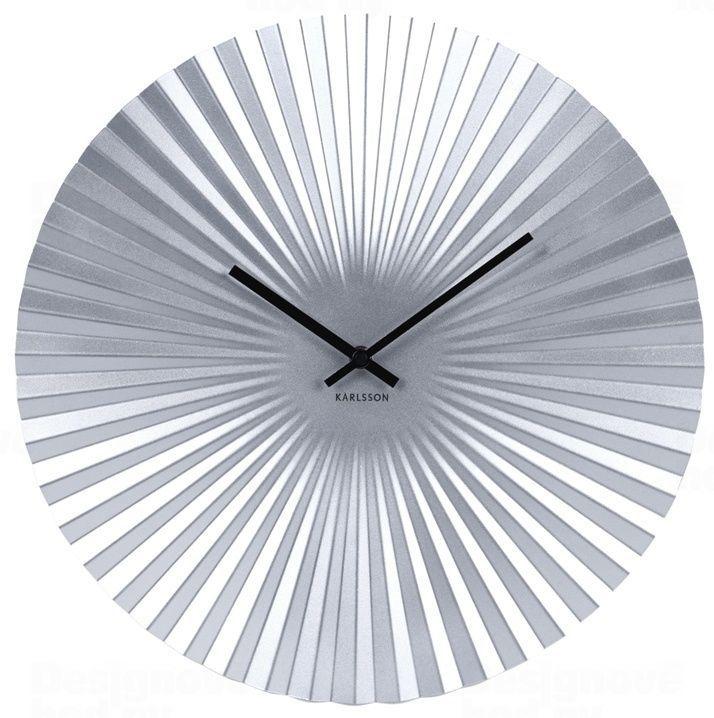 Designové nástěnné hodiny 5658SI Karlsson 50cm 165835