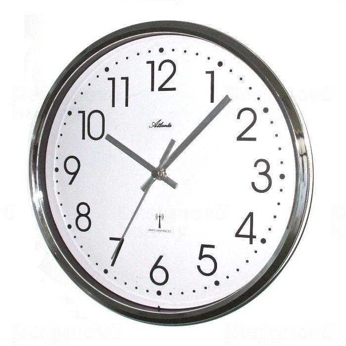 Atlanta Designové nástěnné hodiny AT4368 řízené signálem DCF 25cm 165799