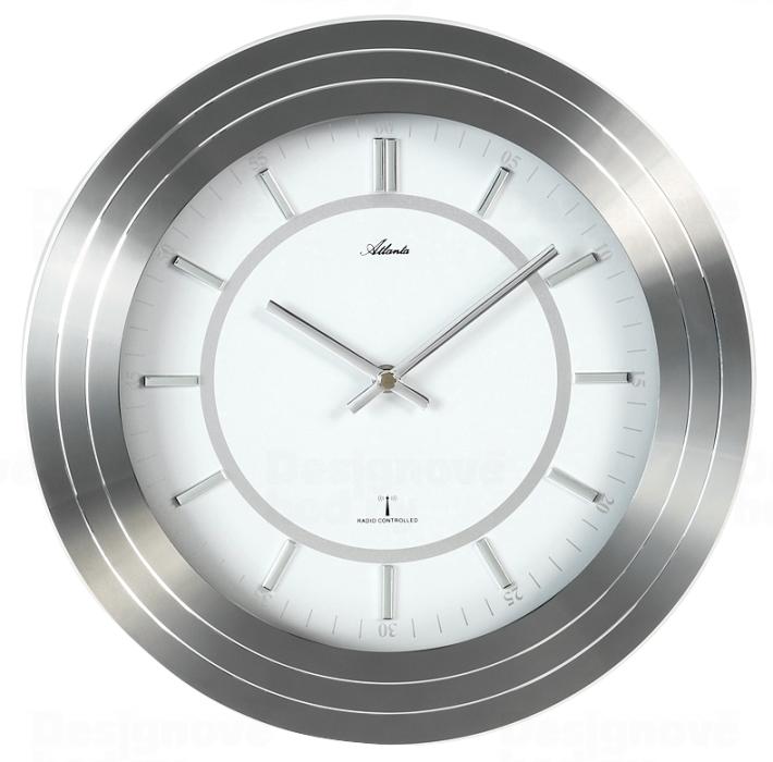 Atlanta Designové nástěnné hodiny AT4375 řízené signálem DCF 30cm 165810