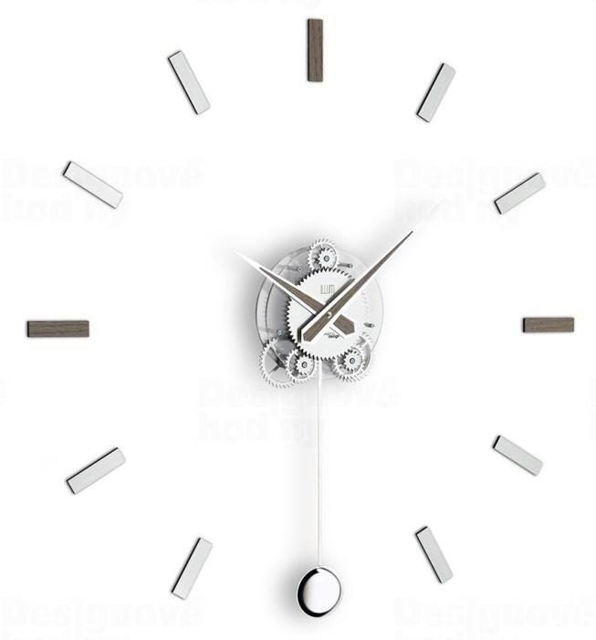 Designové nástěnné hodiny I202GRA IncantesimoDesign 80cm 165901 Hodiny