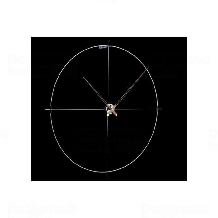 Designové nástěnné hodiny Nomon Bilbao N bílé 110cm 165909