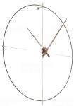 Designové nástěnné hodiny Nomon Bilbao N černé 110cm 165911