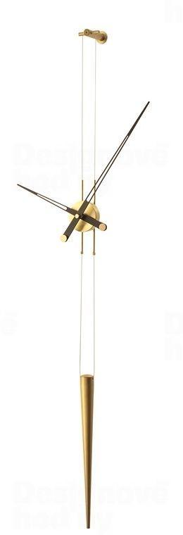 Designové nástěnné hodiny Nomon Pendulo Gold W 165848