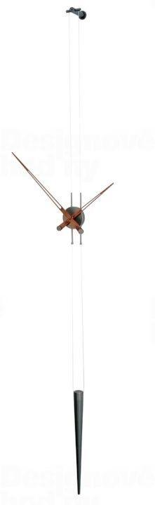 Designové nástěnné hodiny Nomon Pendulo Graphite 165849