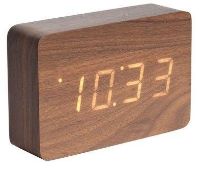 Designový LED budík - hodiny 5653DW Karlsson 15cm 165866