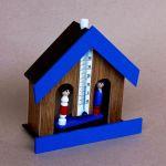 Domeček na předpověď počasí panáček a panenka 165782
