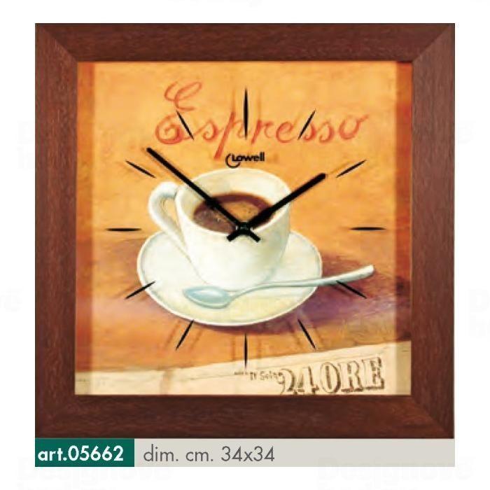 Lowell Italy Originální nástěnné hodiny 05662 Lowell Prestige 34cm 165789