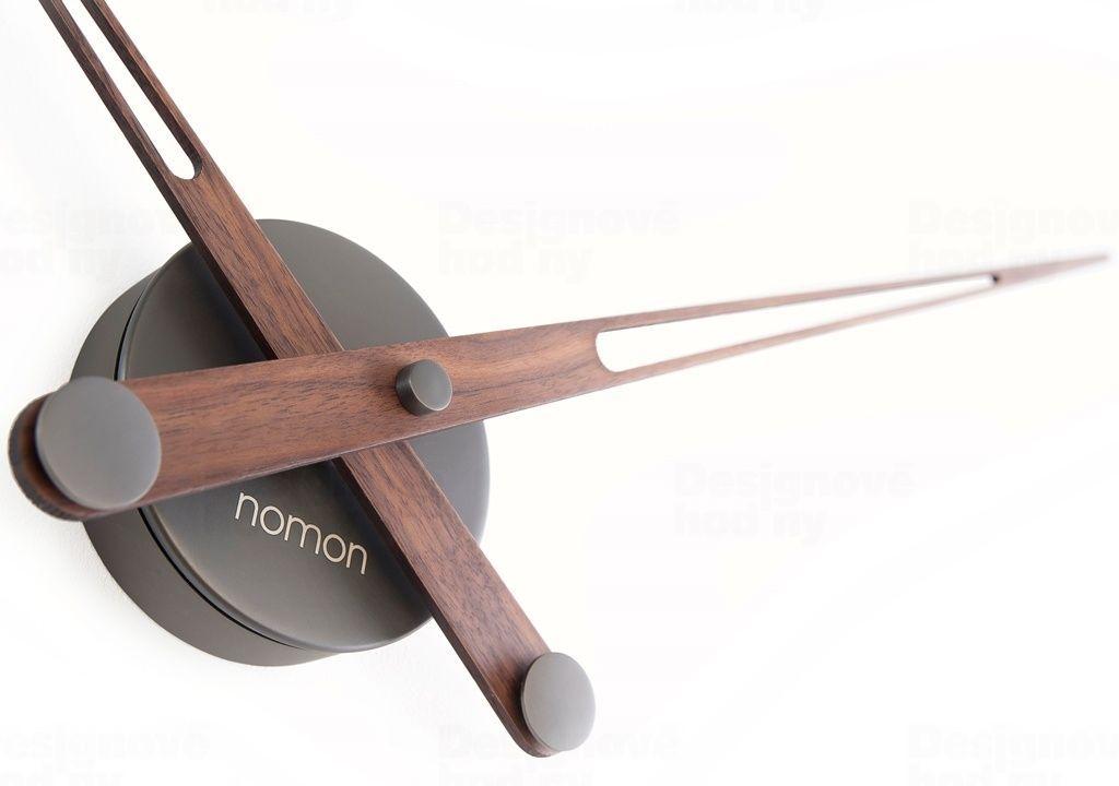 Designové nástěnné hodiny Nomon Axioma Graphite N 73cm 165945