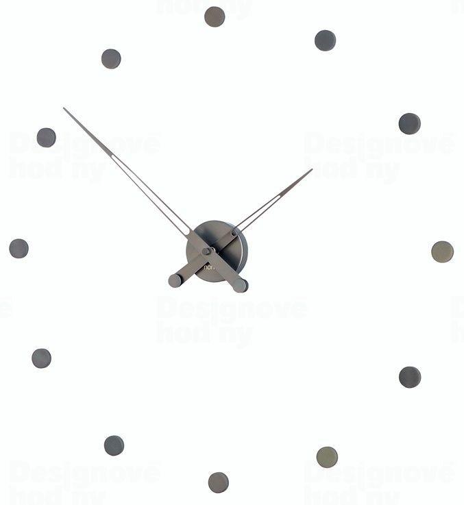 Designové nástěnné hodiny Nomon Rodon Graphite 70cm 165946
