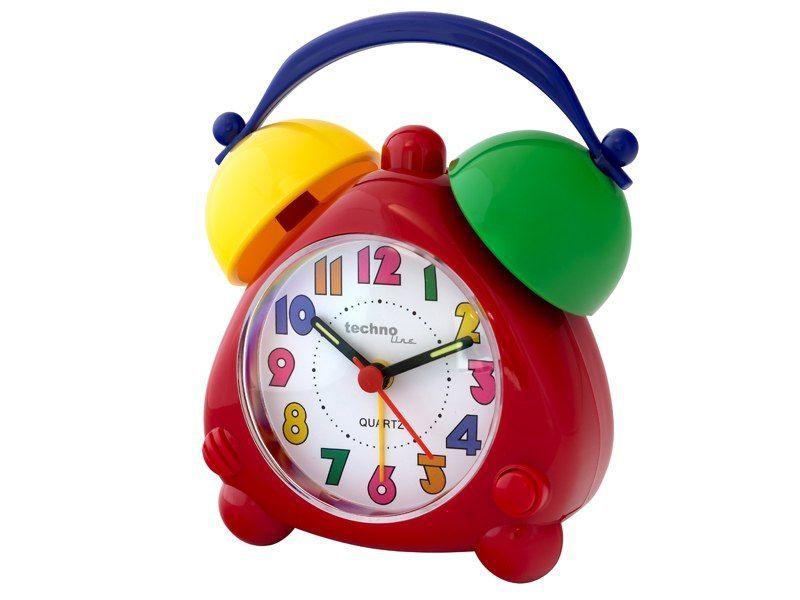 Dětský quarzový budík barevný pro děti TECHNOLINE 165926