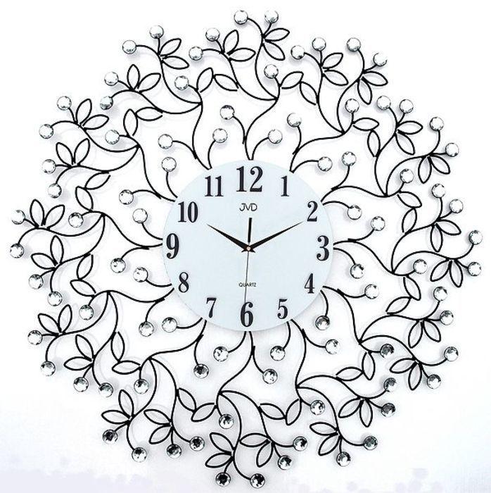 Hodiny na zeď Nástěnné hodiny JVD design HJ75 165942 Designové hodiny