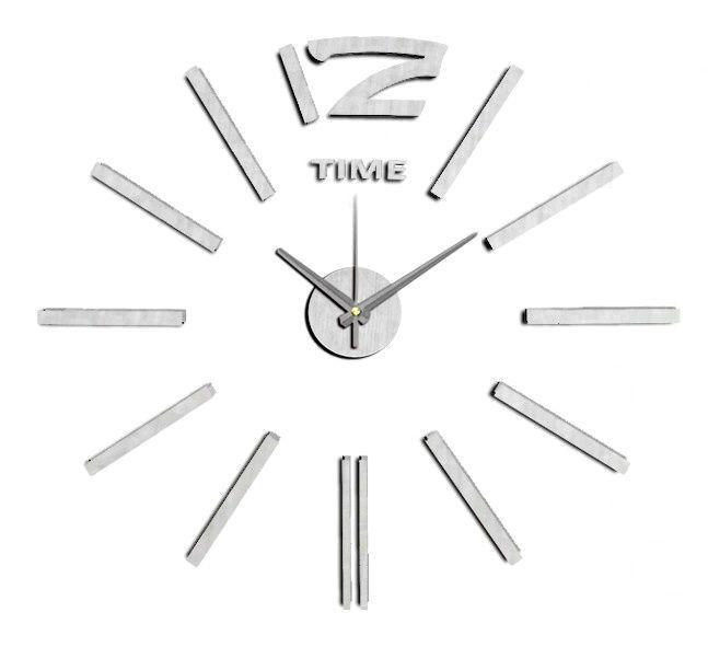Nástěnné nalepovací hodiny barevné NOVINKA 165931