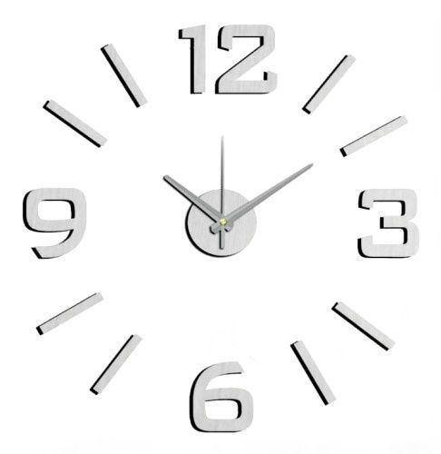 Nástěnné nalepovací hodiny barevné NOVINKA 165932