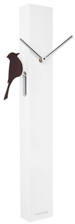 Hodiny na zeď Designové nástěnné hodiny 5691WH Karlsson 60cm 166056 Designové hodiny