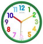 Dětské hodiny nástěnné s barevnými číslicemi MOVEMENT 166070