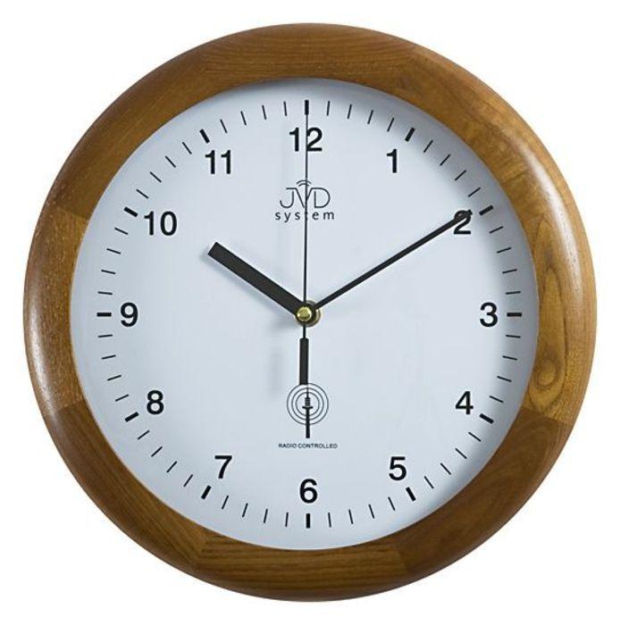Rádiem řížené nástěnné hodiny JVD system RH2341/11 166033