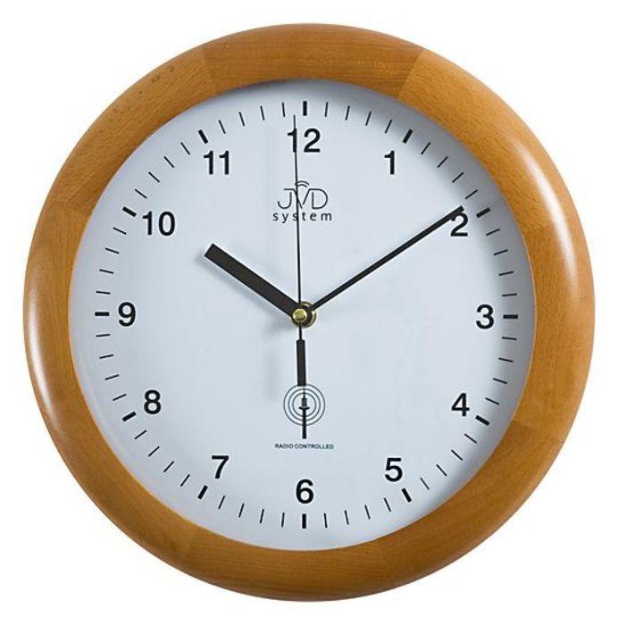 Rádiem řížené nástěnné hodiny JVD system RH2341/41 166034 Hodiny