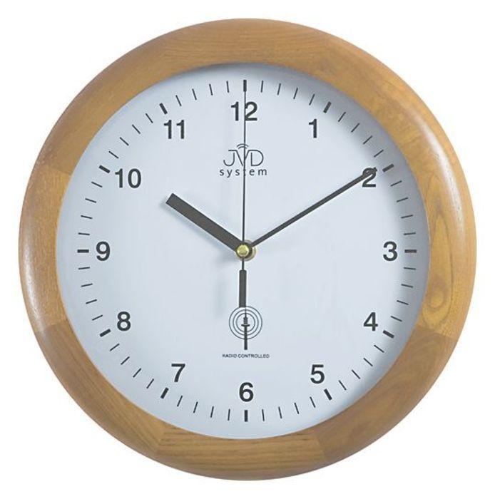 Rádiem řížené nástěnné hodiny JVD system RH2341/68 166035