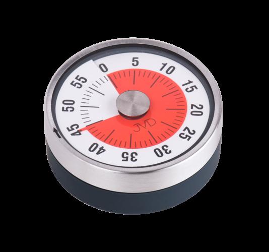 Mechanické kuchyňské minutky JVD DM77.3 156572 Hodiny