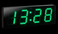 Velké nástěnné digitální LED hodiny DH1.3 (zelené LED číslice) IHNED SKLADEM 157081