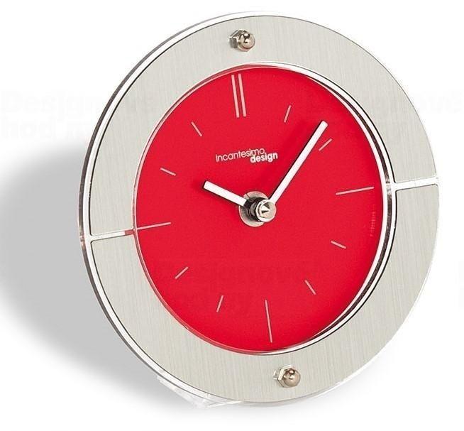 Designové stolní hodiny I109MR IncantesimoDesign 14cm 163384 Hodiny