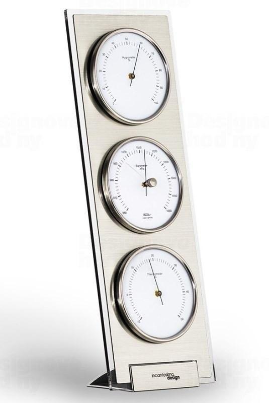 Designová stolní meteostanice I338M IncantensimoDesign 45cm 163648 IncantesimoDesign Hodiny